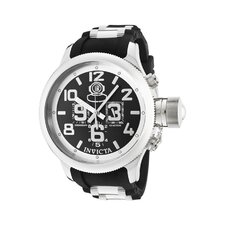 Men's Russian Diver Quinotaur Chronograph Round Watch
