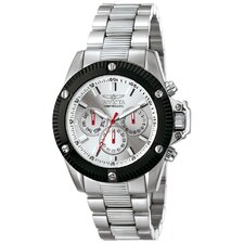 Men's Invicta II Sunray Dial Round Watch