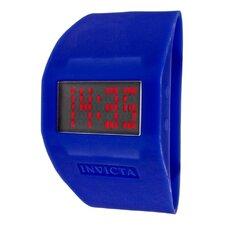 Unisex Specialty Digital Silicon Cuff Watch