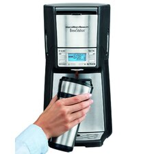 <strong>Hamilton Beach</strong> Brewstation Summit Ultra 12-Cup Programmable Coffeemaker