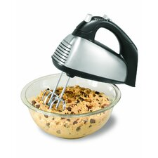 <strong>Hamilton Beach</strong> 6 Speed Hand Mixer with Case