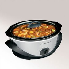 4 Quart Oval Slow Cooker