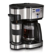 <strong>Hamilton Beach</strong> The Scoop Two-Way Brewer Coffee Maker