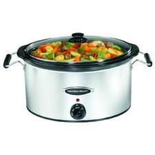 <strong>Hamilton Beach</strong> 7 Quart Black Ice Slow Cooker