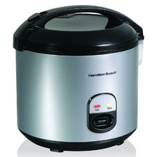 <strong>Hamilton Beach</strong> 20 Cup Rice Cooker and Food Steamer