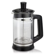 <strong>Hamilton Beach</strong> French Press Coffee Maker with Cocoa Attachment