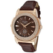 <strong>Rotary Watches</strong> Women's Evolution TZ2 Reversible Round Watch