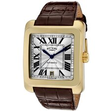 Men's Automatic Rectangle Watch