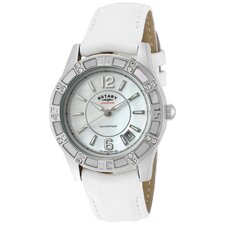 Women's Swarovski Crystal Round Watch