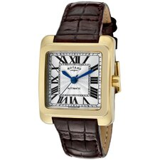 <strong>Rotary Watches</strong> Women's Automatic Rectangle Watch