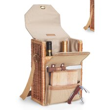 <strong>Picnic Time</strong> Corsica Wine & Cheese Picnic Basket