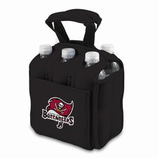 NFL Digital Print Six Pack Beverage Carrier