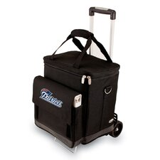 NFL Digital Print Cellar with Trolley in Black