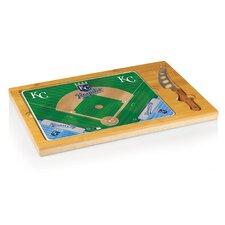 MLB Icon Wood Cutting Board
