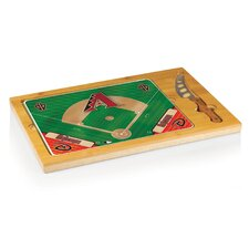 MLB Icon Wood Cutting Board