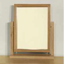 Santana Blonde Oak Dressing Table Mirror
