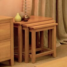 Hereford Oak 3 Piece Nest of Tables