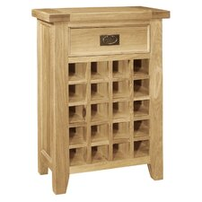 Elegance Oak Wine Rack
