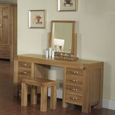 Santana Blonde Oak Dressing Table Set