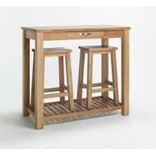 Highclere Oak Bar Table and Stool
