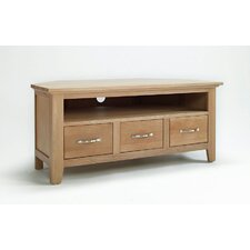 Sherwood Oak Corner TV Stand