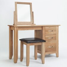 Sherwood Pedestal Dressing Table Set