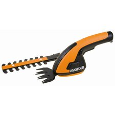 <strong>Worx</strong> Cordless Shear / Shrubber with Trim Blade and Shrub Blade