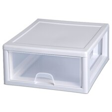 16 Quart Clear Stacking Drawer 23018006 (Set of 6)