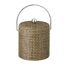 Woven 3 Qt. Ice Bucket with Dome Fabric Lid