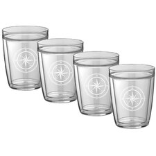Compass Point Everyday Tumbler (Set of 4)