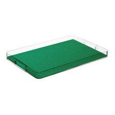 Fishnet Rectangle Serving Tray