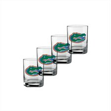 Collegiate Florida Gator 14 oz. Glass (Set of 4)