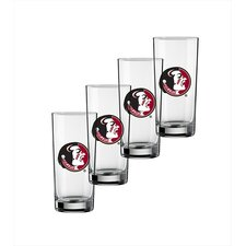 Collegiate Florida State 16 oz. Glass (Set of 4)