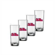 Collegiate U Mississippi 16 oz. Glass