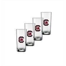 Collegiate USoC 16 Oz Glass (Set of 4)