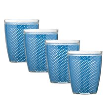 Fishnet Doublewall Drinkware (Set of 4)