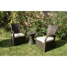 <strong>Heritage Loom</strong> 3 Piece London Bistro Set