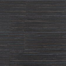 "Bamboo Series 24"" x 6"" Porcelain Tile in Bamboo Black"
