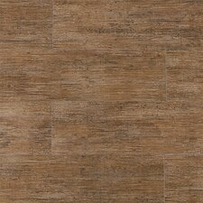 "Wood Grain Series 24"" x 6"" Porcelain Tile in Maple"