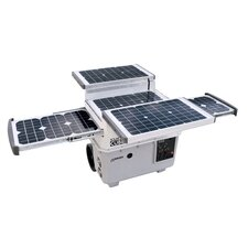E Power Cube 1500 Collapsible Solar Power Panel Array with Inverter