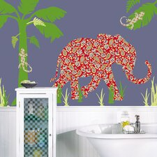 ZooWallogy Mabuza The Elephant Wall Decal