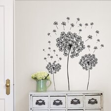 Dandelion Small Wall Decal Kit