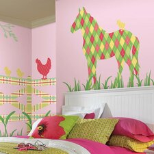 ZooWallogy Addison The Horse Wall Decal