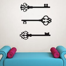 Keys to my Heart Small Wall Decal Kit