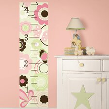 <strong>WallPops!</strong> Butterfly Garden Growth Chart Growth Chart