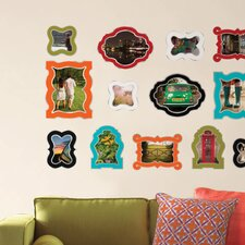 Jonathan Adler Enamel Frames Wall Decal Kit