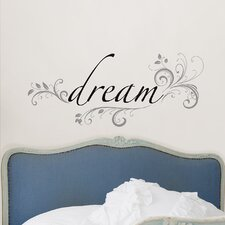Art Kit Dream Phrases Wall Decal