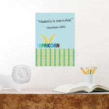 Jonathan Adler Dry Erase Capricorn Board Wall Decal