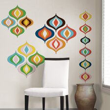 <strong>WallPops!</strong> Jonathan Adler Bargello Wave Wall Art Kit