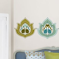 Jonathan Adler Elephant Paisley Dot Wall Decal